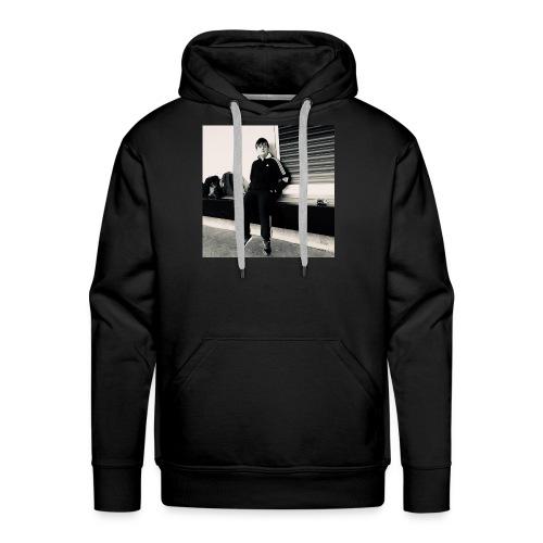 Tshirt with Spraxa's face on it! - Men's Premium Hoodie