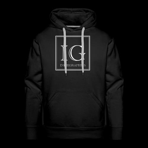 Indie Graphics Logo - Männer Premium Hoodie