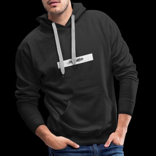 Black&white_Fashion - Männer Premium Hoodie