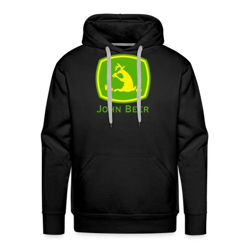 john beer-Funny Shirt - Männer Premium Hoodie