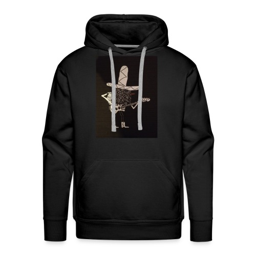 Mexican Bass Player - Men's Premium Hoodie