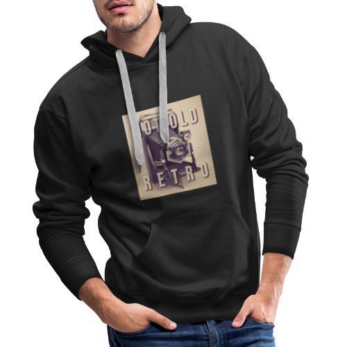 Not old. Retro! - Mannen Premium hoodie