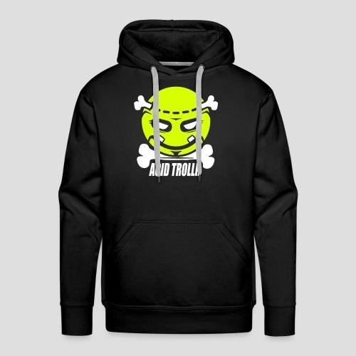 Acid TROLLR - Sweat-shirt à capuche Premium pour hommes