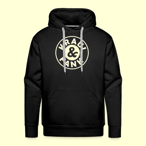 Kraul & Fank transparent - Männer Premium Hoodie