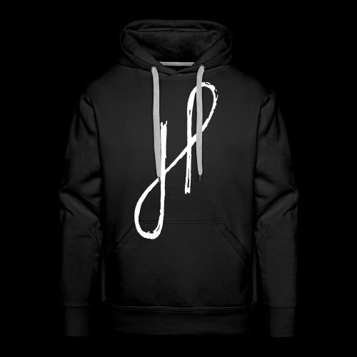 JP Logo Grunge - Männer Premium Hoodie