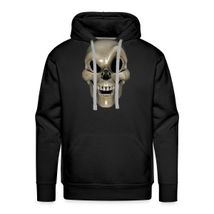Smart Skull - Premium hettegenser for menn