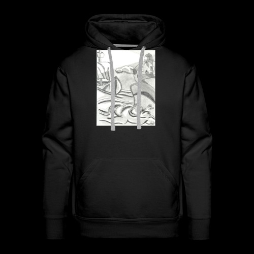 abstrack - Sudadera con capucha premium para hombre