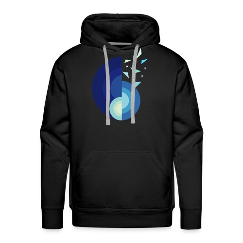 GLACE - MINIMALISTE - Sweat-shirt à capuche Premium pour hommes