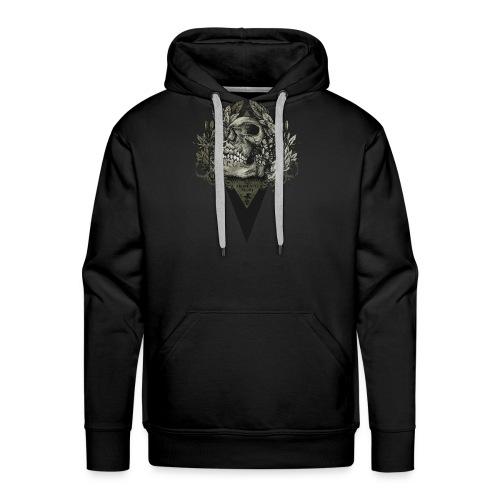 mementomori - Sweat-shirt à capuche Premium pour hommes
