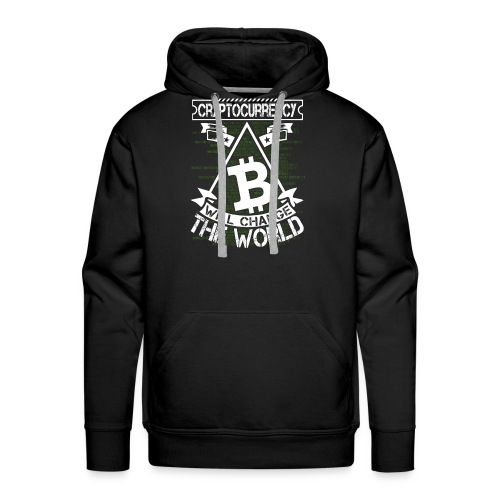 cryptocurrency - Mannen Premium hoodie