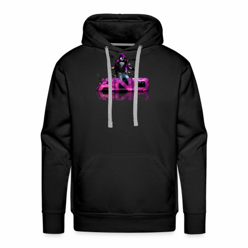 This Is AND - Design Pink - Männer Premium Hoodie