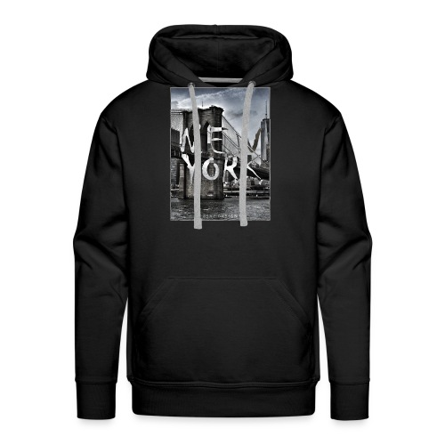 New York | 8SAP City Design Collection - Männer Premium Hoodie