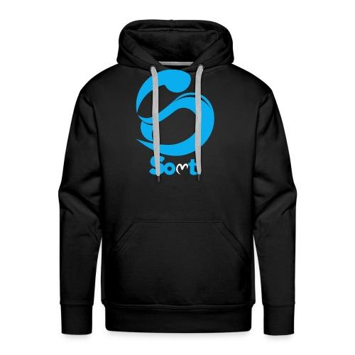 SoltiSquad Blue Logo for Solti (Men) - Men's Premium Hoodie