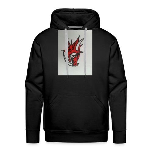 drago - Felpa con cappuccio premium da uomo