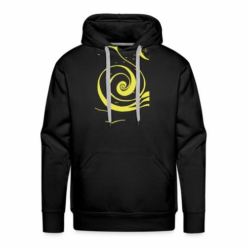 Une spirale de lumière ! - Sweat-shirt à capuche Premium pour hommes
