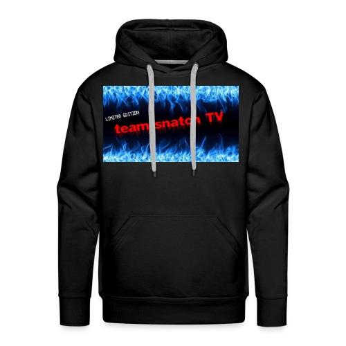 team snatch - Sweat-shirt à capuche Premium pour hommes