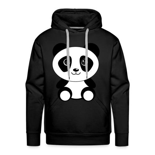 PandaGun-Icon - Männer Premium Hoodie
