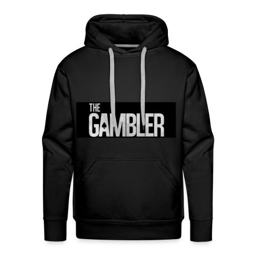 De gokker - Mannen Premium hoodie