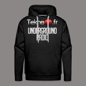 logo tekno1 2000x2000 - Sweat-shirt à capuche Premium pour hommes