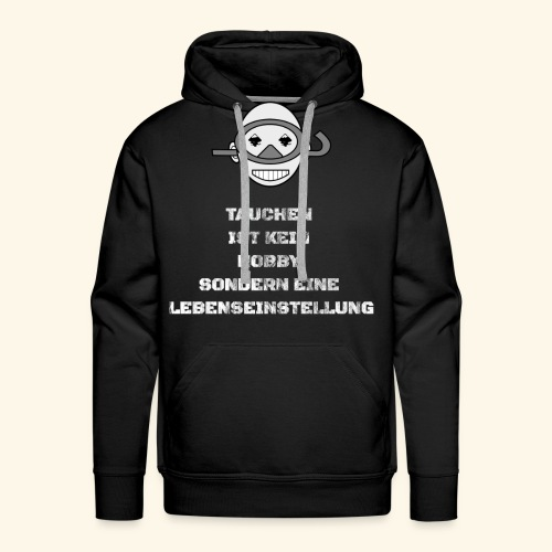TAUCHEN T-Shirt Pullover Hoodie - Männer Premium Hoodie