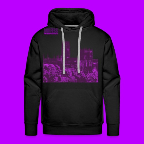 Square Durfess Logo - Cathedral Only - Men's Premium Hoodie