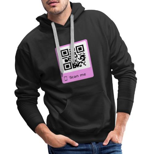 will you marry me rosa - Männer Premium Hoodie