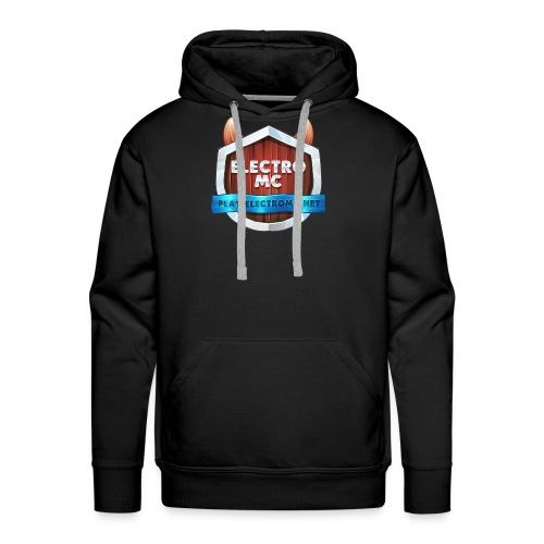 ElectroMC Logo - Mannen Premium hoodie