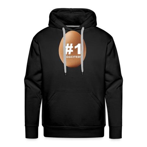 EGGCITED - Mannen Premium hoodie