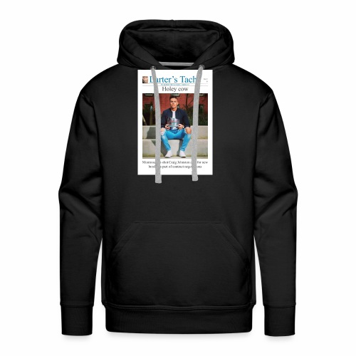 Issue 3 Front Cover - Men's Premium Hoodie
