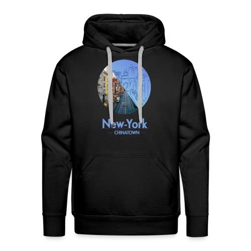 New-York Chinatown - Sweat-shirt à capuche Premium pour hommes
