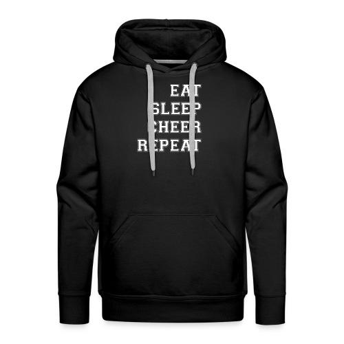 Eat Sleep Cheer Repeat - Men's Premium Hoodie