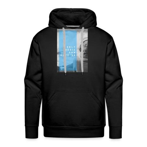 Only Music - Mannen Premium hoodie