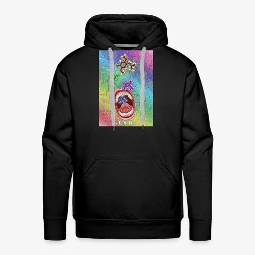 acide lysergique - Sweat-shirt à capuche Premium pour hommes