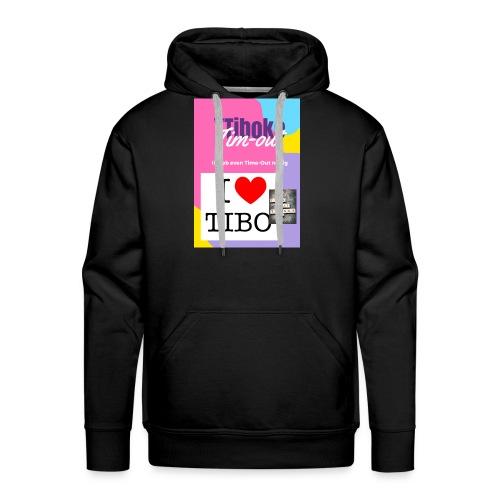 Time-Out - Sweat-shirt à capuche Premium pour hommes