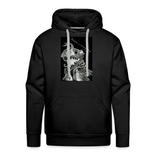 Modèle Gwen Hector Black - Sweat-shirt à capuche Premium pour hommes