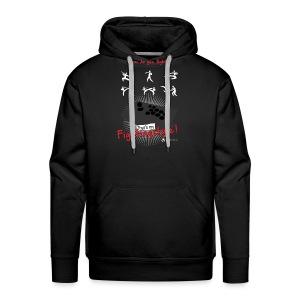 Fightingstyle black V2 - Männer Premium Hoodie