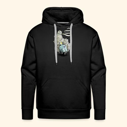 mummie vespa verband cartoon - Mannen Premium hoodie