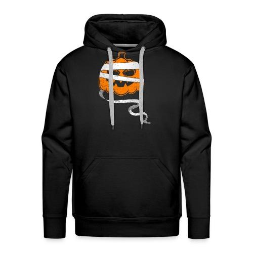 Halloween Bandaged Pumpkin - Männer Premium Hoodie