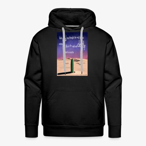 Surreal cactus - Men's Premium Hoodie
