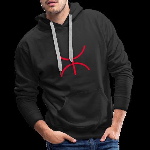 Amazigh - Sweat-shirt à capuche Premium pour hommes