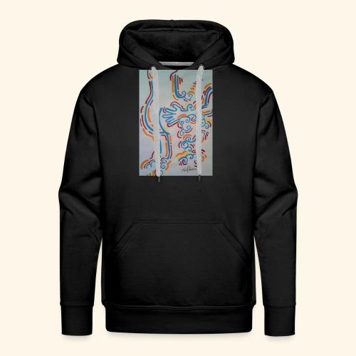 La main au Q. - Sweat-shirt à capuche Premium pour hommes