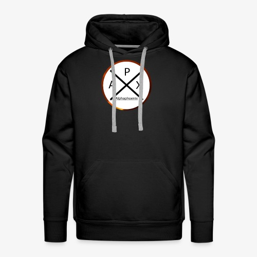 Alphaphoenix logo - Männer Premium Hoodie