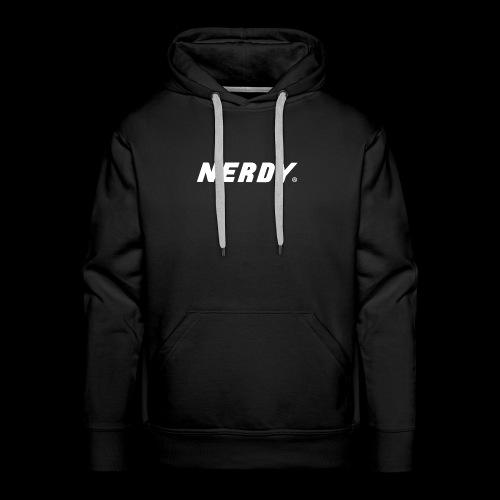 nerdy - Mannen Premium hoodie