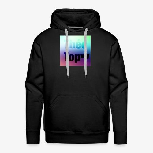 Logo Théo Top - Sweat-shirt à capuche Premium pour hommes