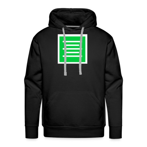 Please Insert Random Information Here Logo - Men's Premium Hoodie