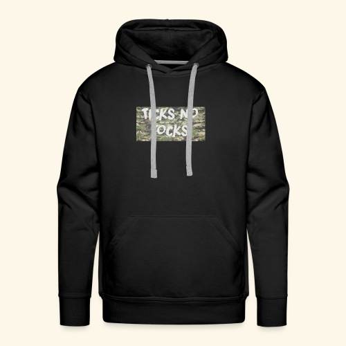 ticks no tocks - Men's Premium Hoodie
