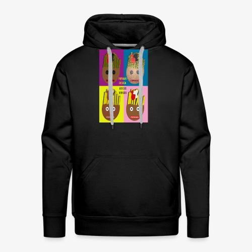 Fryhair Poparted - Männer Premium Hoodie
