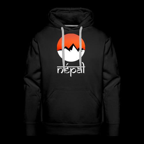 Hoodie Népal - Sweat-shirt à capuche Premium pour hommes