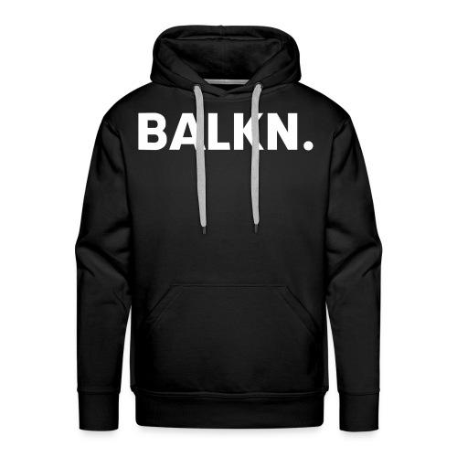 BALKN-_wit_ - Mannen Premium hoodie