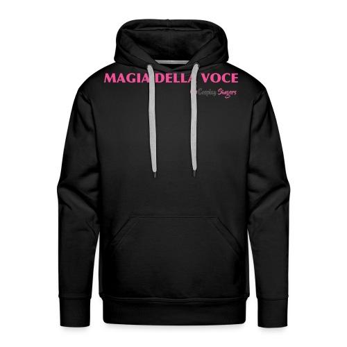 magiadellavocegrande - Felpa con cappuccio premium da uomo
